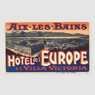 Hotel LED Europe (Aix Baths) Sticker