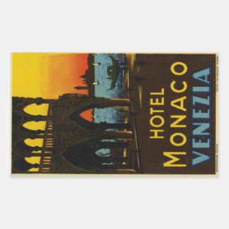 Hotel Monaco Venezia Sticker