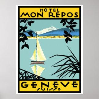 Hotel My Rest (Geneva - Switzerland) Poster