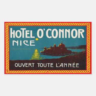 Hotel O'Connor (Nice France) Sticker