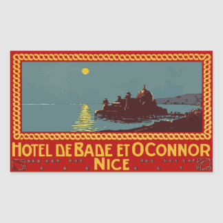 Hotel of Bade and Connor (Nice) Vector format Sticker