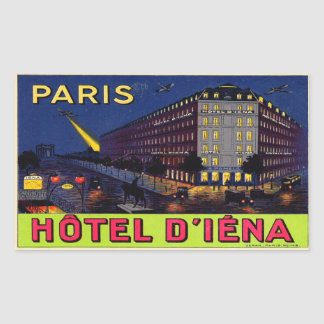 Hotel of Iéna (Paris) Sticker