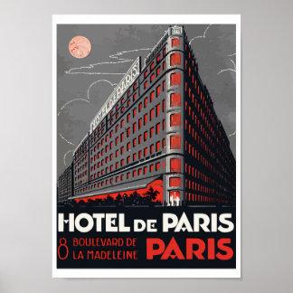 Hotel of Paris (Paris) Poster