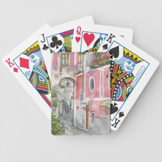 Hotel Palermo in Ravello, Italy Playing Cards