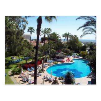 Hotel Palmasol Postcard