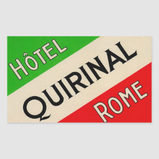 Hotel Quirinal (Rome Italy)
