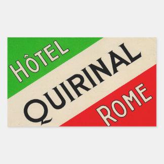 Hotel Quirinal (Rome Italy) Sticker