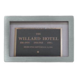 Hotel Rectangular Belt Buckle