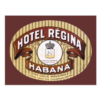 Hotel Regina Habana Cuba Postcard