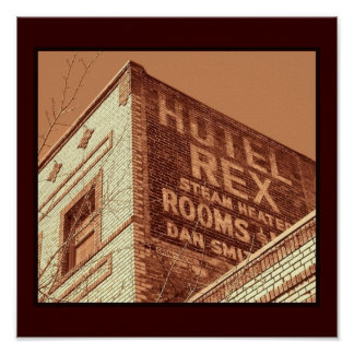 Hotel Rex Poster