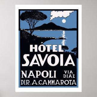 Hotel Savoia (Napoli) Poster