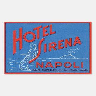 Hotel Sirena (Naples Italy) Sticker