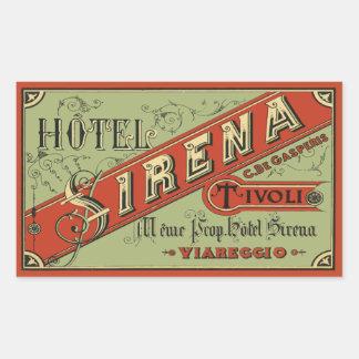 Hotel Sirena (Tivoli - Italy) Sticker