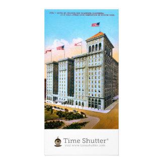 Hotel St. Francis Customized Photo Card