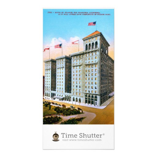 Hotel St. Francis Customized Photo Card