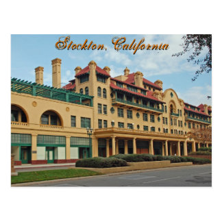 Hotel Stockton Postcard