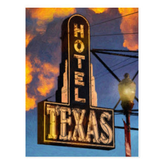 Hotel Texas Postcard