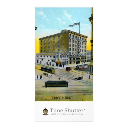Hotel Turpin Photo Card Template