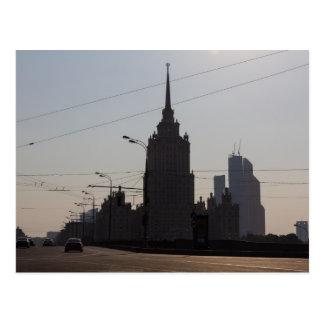 Hotel Ukraina Postcard