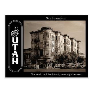 Hotel Utah Saloon postcard