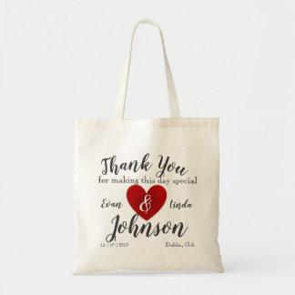Hotel Wedding Gift Bag Custom Name