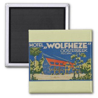 HOTEL WOLFHEZE OOSTERBEEK HOLLAND MAGNET