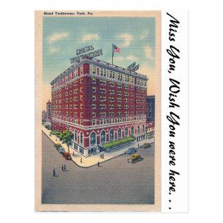 Hotel Yorktowne, York, PA Postcard