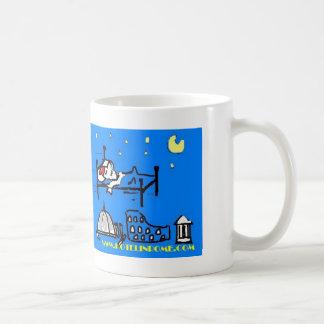 hotelinrome logo, info@hotelinrome.comvia margh... coffee mug