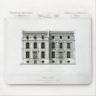 Hotels Prives, 10 & 12 Rue Balzac, Paris Mouse Pad
