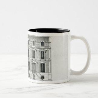 Hotels Prives, 10 & 12 Rue Balzac, Paris Two-Tone Coffee Mug