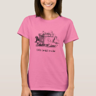 HotOO Carahil Figurines, ladies ringer T-Shirt