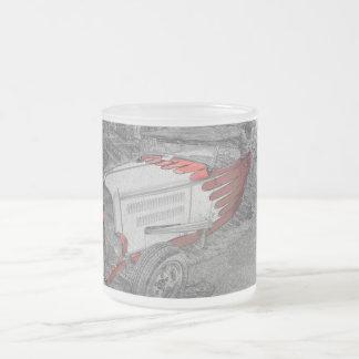 hotrod car mug
