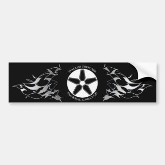 Hotrod Hearses Bumper Sticker