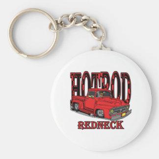 Hotrod Redneck Keychain