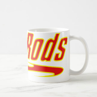 Hotrod Yellow And Red Hot rod Gifts By Gear4gearhe Coffee Mug