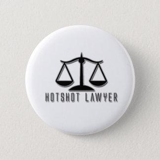 Hotshot Lawyer 2 Inch Round Button
