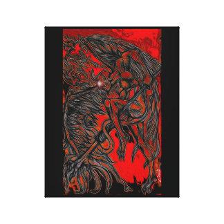 """Hotstepper"" Canvas Print"