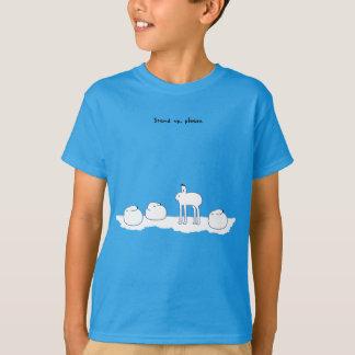 < hotsukiyokuusaki ゙ > Arctic hares T-Shirt