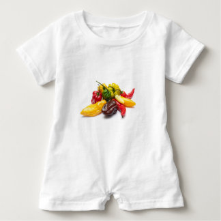 Hottest chilies baby romper