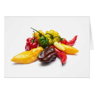 Hottest chilies card
