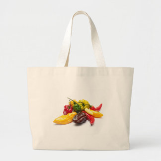Hottest chilies large tote bag