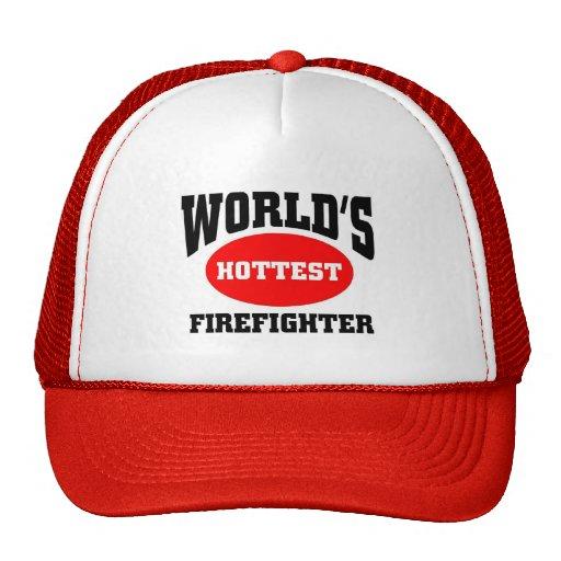 Hottest firefighter trucker hats