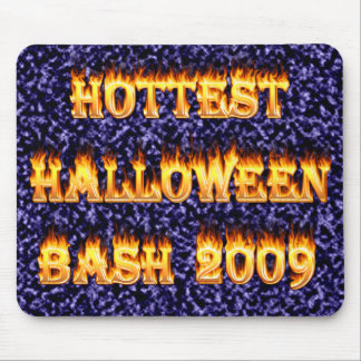 Hottest Halloween Bash 2009 Blue Mouse Pad
