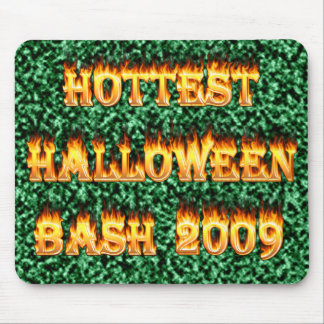 Hottest Halloween Bash 2009 Green Mouse Pad