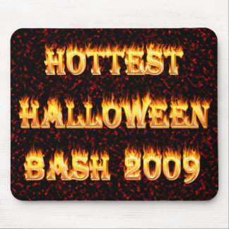 Hottest Halloween Bash 2009 Red Mouse Pads