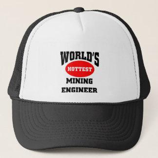 hottest mining engineer trucker hat