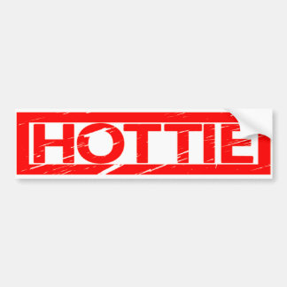 Hottie Stamp Bumper Sticker