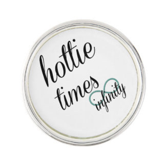 Hottie Times Infinity Lapel Pin