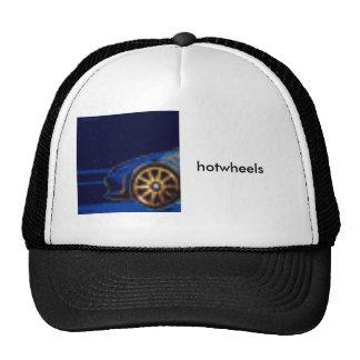 hotwheels mesh hat