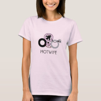 HOTWIFE cuckold womens t-shirt